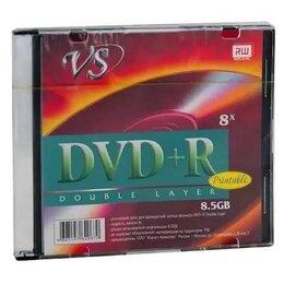 Диски - Диск DVD+R VS 8,5 GB, 8x Double Layer, Slim Case (, 0