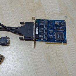 Прочие комплектующие - Контроллер C104H/PCI MOXA, 0