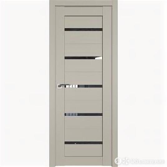 Межкомнатные двери Profil Doors 7U Шеллгрей Стекло Дождь чёрный С Филенкой 20... по цене 9649₽ - Межкомнатные двери, фото 0