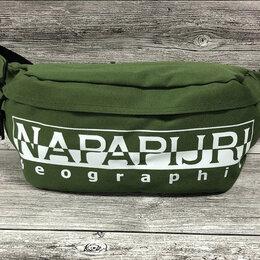 Сумки - Сумка на пояс Napapijri зеленая, 0