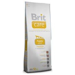 Корма  - Сухой корм Brit Care Puppy All Breed Lamb Rice 12 кг, 0