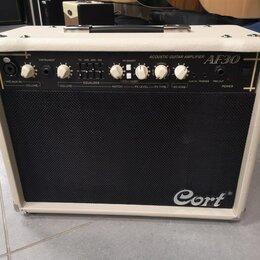 Гитарное усиление - Новый комбик для акустики Cort AF30-EU 30W, 0