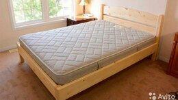 Кровати - новая деревянная кровать, 0