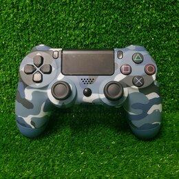 Аксессуары - Беспроводной геймпад для PS4 (Blue camouflage), 0