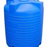 Баки - Емкость пластиковая 5000 литров. Вертикальная, 0
