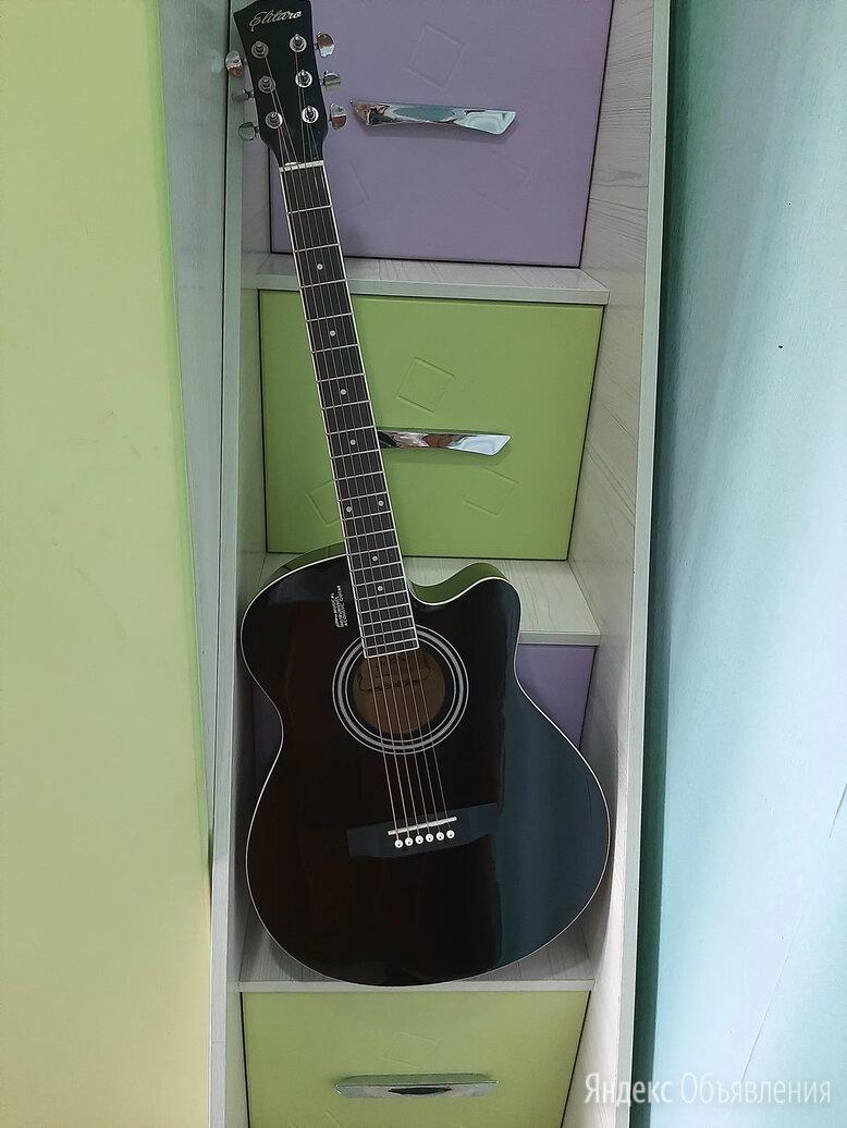 Большая акустическая гитара по цене 5500₽ - Акустические и классические гитары, фото 0