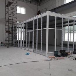 Готовые конструкции - Установка офисных перегородок, 0