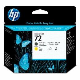 Аксессуары для принтеров и МФУ - HP C9384A (№72) матово-черная и желтая печатающая головка, 0