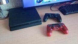 Игровые приставки - Sony playstation 4 slim 1tb, 0