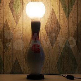 Настольные лампы и светильники - Лампа кегля (боулинг), настольная лампа, 0