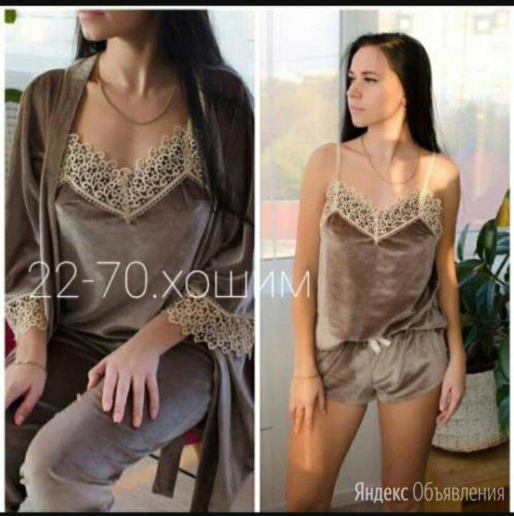 Комплект 4в1 новый по цене 1650₽ - Домашняя одежда, фото 0