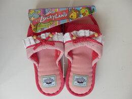 Домашняя обувь - Детские домашние тапочки на девочку новые,…, 0