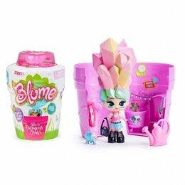 Куклы и пупсы - Blum Girl Кукла, вырастающая в горшке от полива, 0