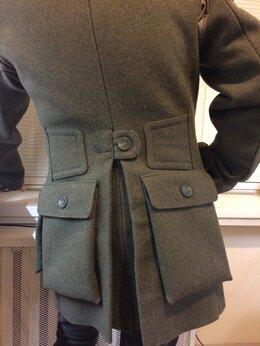 Пальто - Бушлат пальто тренч, 0