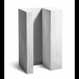 Строительные блоки - Газобетонный U-образный блок Bikton D600 625х400х200, 0