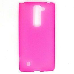 Чехлы - Силиконовый чехол для LG Magna H502/G4C (розовый), 0