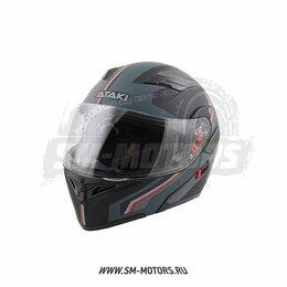 Мотоэкипировка - Шлем ATAKI (Атаки) JK902 Shape модуляр, 0
