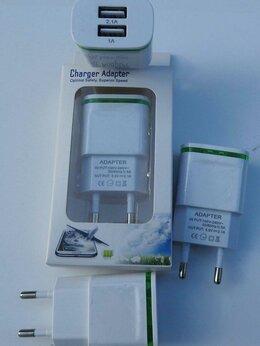 Зарядные устройства и адаптеры - Зарядное устройство 5V / 2,1 Ампера с подсветкой, 0