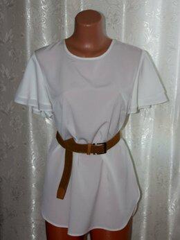 Блузки и кофточки - Блузка белая шифоновая новая, 0
