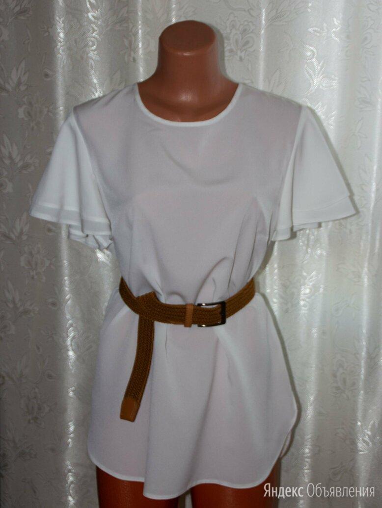 Блузка белая шифоновая новая по цене 600₽ - Блузки и кофточки, фото 0