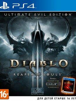 Игры для приставок и ПК - Видеоигра Diablo 3 (III): Reaper of Souls.…, 0