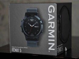 Умные часы и браслеты - Garmin Fenix 5 Sapphire (новые, запечатанные), 0