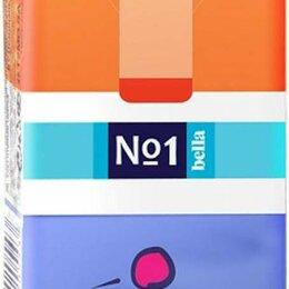 Влажные салфетки - Носовые платочки бумажные Bella трехслойные 10 шт, 0