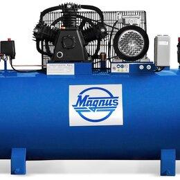 Воздушные компрессоры - Компрессор воздушный Magnus KW-900/200 (8атм.,/5.5кВт, 380В,Ф90), 0