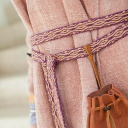 Ремни и пояса - Пояс тканый на дощечках, 0