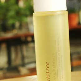 Для снятия лака - Innisfree Жидкость для снятия лака с маслом мандарина Eco Nail Remover,100 мл, 0