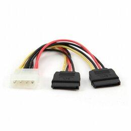 Компьютерные кабели, разъемы, переходники - Разветвитель питания IDE -> 2 SATA, 0