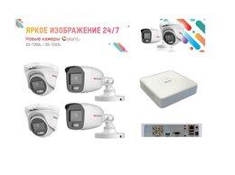 Готовые комплекты - Комплект на 4 камеры Цветное изображение 24ч, 0
