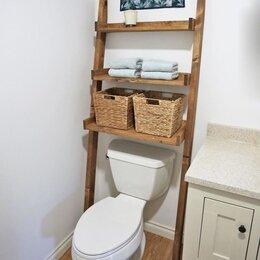 Полки, стойки, этажерки - Лестница- стеллаж в ванную, 0