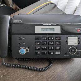 Факсы - Телефон-факс Panasonic FX-KT982RU, 0