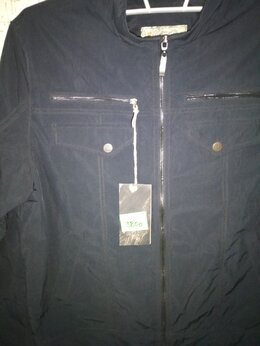 Куртки - Новая мужская ветровка 3XL, 5XL, 0