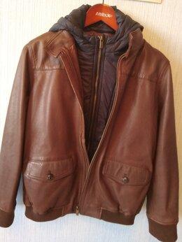 Куртки и пуховики - Куртка кожаная Massimo Dutti, 0