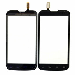 Дисплеи и тачскрины - Тачскрин для LG D325 (L70 Dual) черный, 0