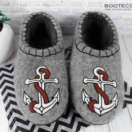 Домашняя обувь - Тапки валяные, 0