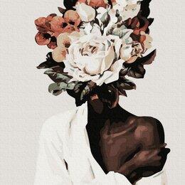 Картины, постеры, гобелены, панно - КАРТИНА ПО НОМЕРАМ 40Х50 Прекрасный цветок, 0