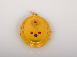 Кулоны и подвески - Золотой медальон. Царизм 56 проба, 0