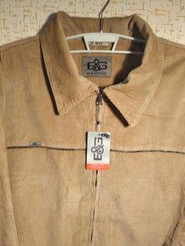 Куртки - Новая мужская куртка из хб вельвета 74 размера, 0