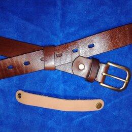 Ремни и пояса - Ремень кожаный мужской ручной работы. , 0