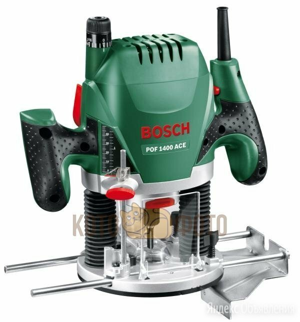 Фрезер Bosch POF 1400 ACE (060326C820) по цене 12890₽ - Фрезеры, фото 0