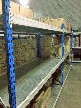 Стеллажи и этажерки - Стеллаж металлический складской (500 кг на ярус) , 0