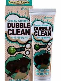 Зубная паста - Зубная паста кремовая с очищающими пузырьками и…, 0