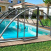 Павильон для бассейна Albixon KLASIK Clear A (3 секции) по цене 549390₽ - Готовые строения, фото 0