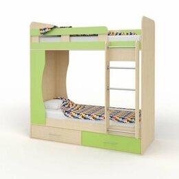 Кроватки - Кровать двухъярусная Д-902, 0