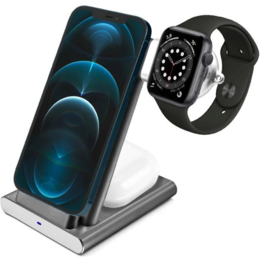 Док-станции - Док-станция COTEetCI Base 3 в 1 для Apple Watch…, 0