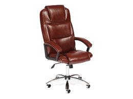 Компьютерные кресла - Кресло офисное экокожа хром BERGAMO, 0