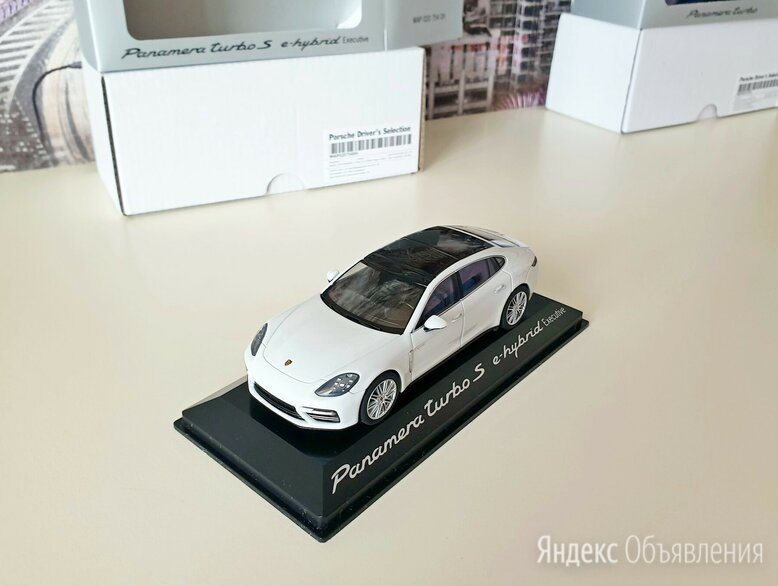 Porsche Panamera Turbo S E-Hybrid Executive 971 (G2) 1/43 Herpa WAP0207540H по цене 2500₽ - Модели, фото 0